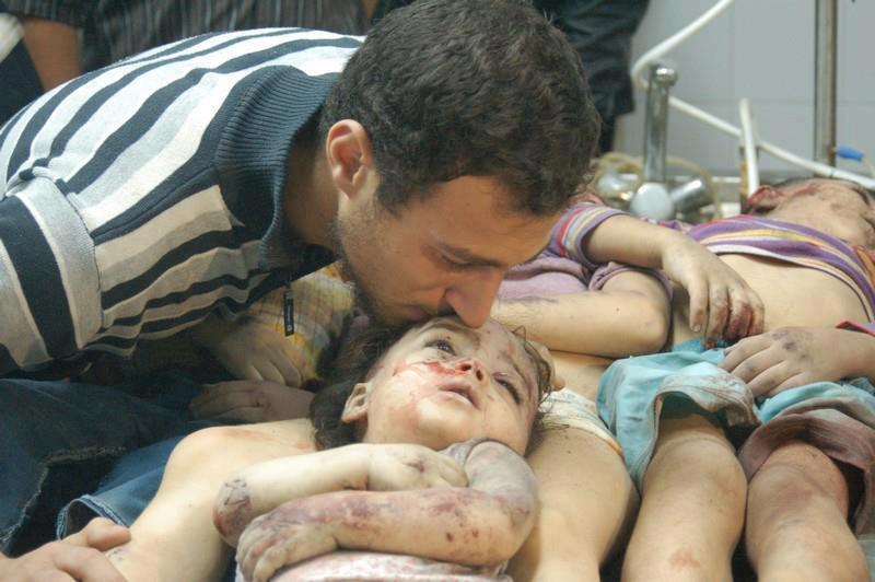 slaughtered children
